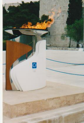 Athens Olympic Flame 001