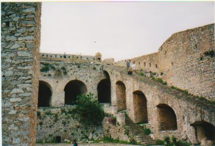 Palamidi Fortress inside 001