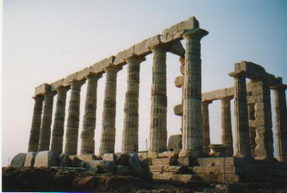 Sounion Temple to Poseidon 001